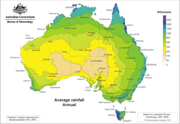 Australia Rainfall