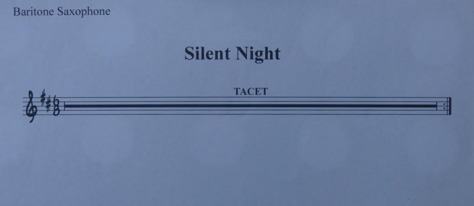Utterly silent