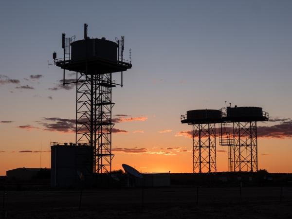 Birdsville sunset
