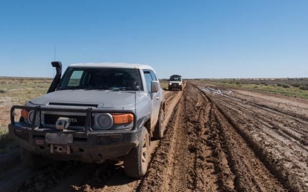 mud bash